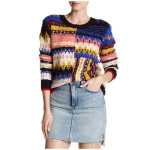 Free People alpaca blend Best Day Ever sweater